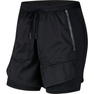 Nike Tech Pack 2 in 1 Laufshorts Herren black-black-reflect black