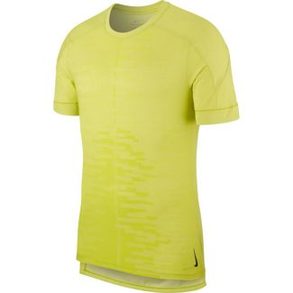 Nike Dry Funktionsshirt Herren bright cactus-white-black