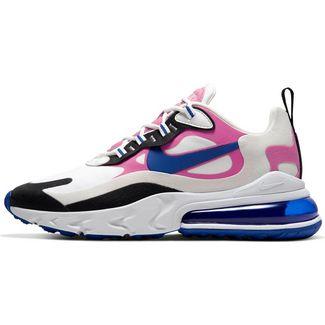 Nike Air Max 270 React Sneaker Damen summit white-hyper blue-cosmic fuchsia