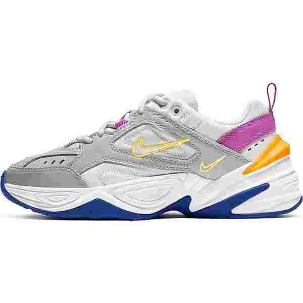 Nike M2K Tekno Sneaker Damen lt smoke grey-photon dust-vivid purple