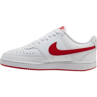 Nike Court Vision Sneaker Damen white-university red-white