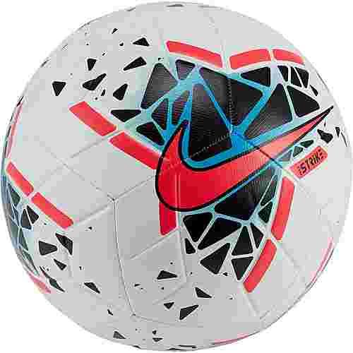 Nike Strike Fußball white-black-laser crimson-white