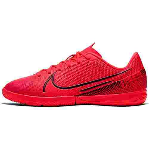 Nike JR MERCURIAL VAPOR 13 ACADEMY IC Fußballschuhe Kinder laser crimson-black-laser crimson