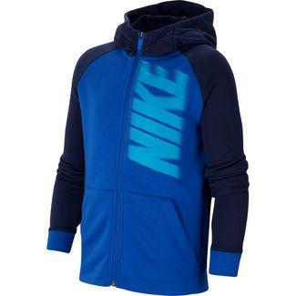Nike Fleecejacke Kinder game royal-midnight navy-laser blue