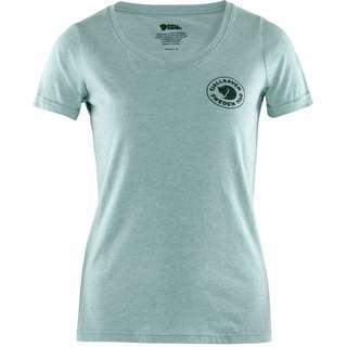 FJÄLLRÄVEN 1960 Logo T-Shirt Damen clay blue-melange