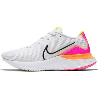 Nike Renew Run Laufschuhe Damen platinum tint-black-white-pink blast