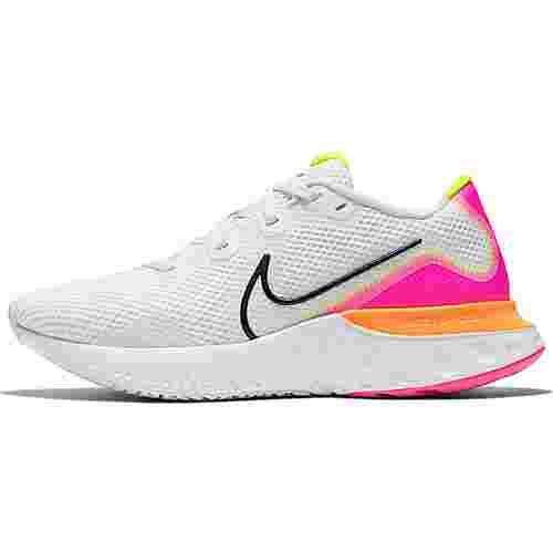 Nike Renew Run Laufschuhe Damen platinum tint-black-white-pink blast