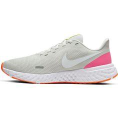 Nike Revolution 5 Laufschuhe Damen platinum tint-white-pink blast