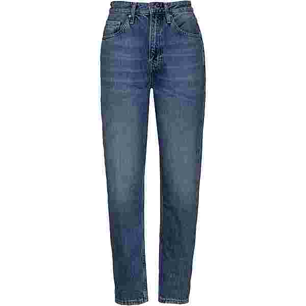 Tommy Hilfiger Straight Fit Jeans Damen sunday mid bl rig