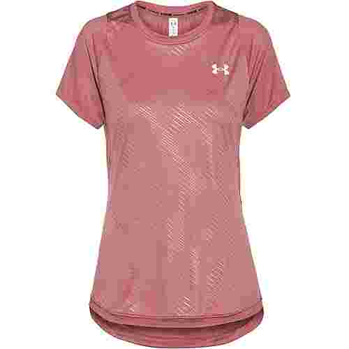 Under Armour Qualifier ISO-Chill Funktionsshirt Damen hushed pink