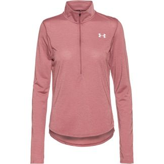 Under Armour Streaker 2.0 Half Zip Funktionsshirt Damen hushed pink