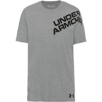 Under Armour Wordmark T-Shirt Herren grey