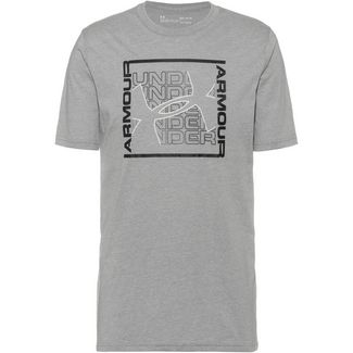 Under Armour Rhythm Trainingsshirt Herren grey