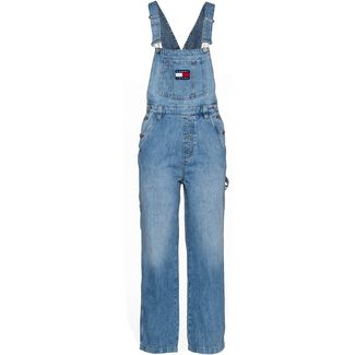 Tommy Jeans Latzhose Damen 90s light bl rig