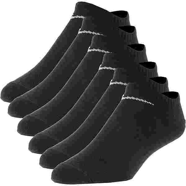 Nike Everyday Ltwt 6 Pack Socken Pack black-white