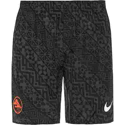 Nike Challenger Laufshorts Herren black-anthracite-reflective silv
