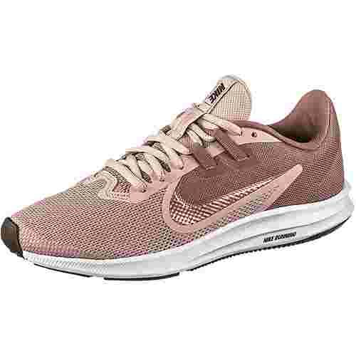Nike Downshifter 9 Laufschuhe Damen smokey mauve-mtlc red bronze-stone mauve