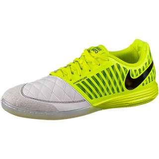 Nike Lunar Gato 2 IC Fußballschuhe Herren lemon venom-black-photon dust