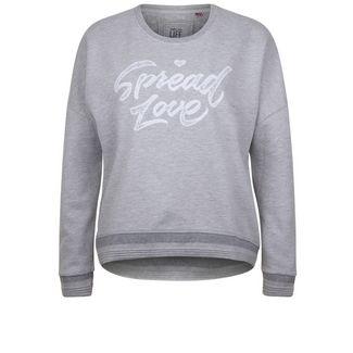 Shirts for Life KATHERINE Sweatshirt Damen grey melange