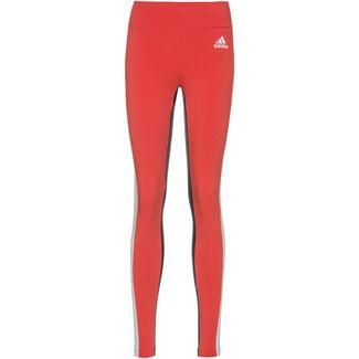 adidas Leggings Damen glory red