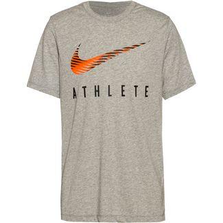 Nike Dr Swsh Athle Funktionsshirt Herren dk grey heather
