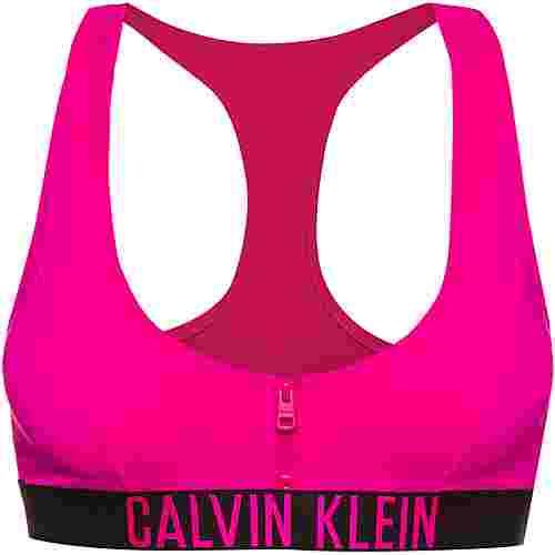 Calvin Klein Bikini Oberteil Damen pink glo