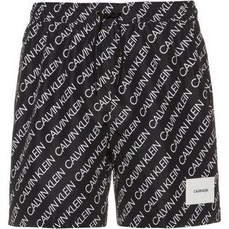 Calvin Klein Badeshorts Herren logo repeat black