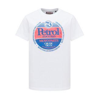 Petrol Industries T-Shirt Kinder Bright White