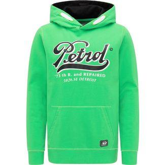 Petrol Industries Hoodie Kinder Champion Green