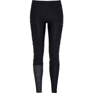 ORTOVOX Delago Tights Damen black raven