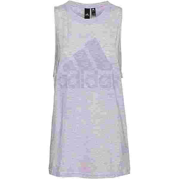 adidas Winners Tanktop Damen purple tint melange