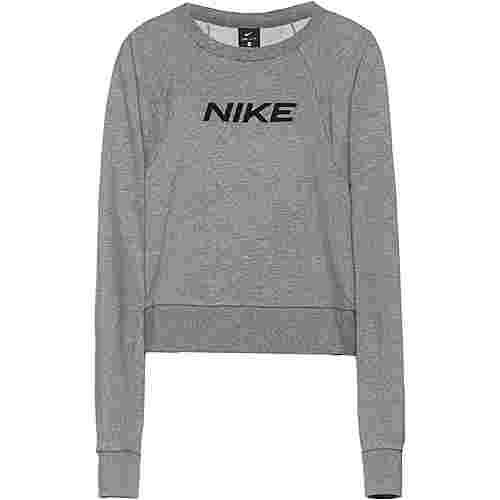 Nike Plus Size Sweatshirt Damen carbon heather-black