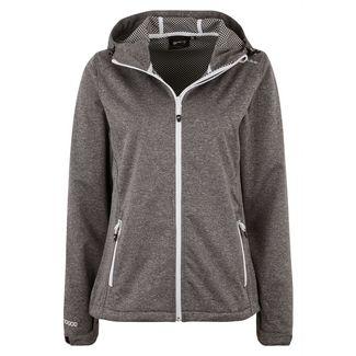 Whistler Trainingsjacke Damen 1005 Light Grey Melange