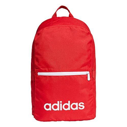 adidas Linear Classic Daily Rucksack Daypack Herren Scarlet Scarlet White im Online Shop von SportScheck kaufen