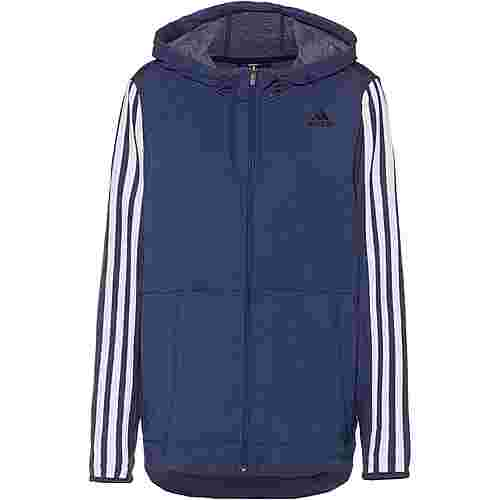 adidas Plus Size Trainingsjacke Damen tech indigo
