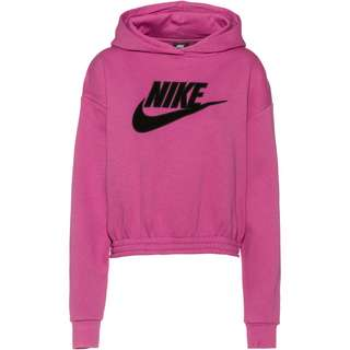 Nike NSW Icon Clash Hoodie Damen cosmic fuchsia