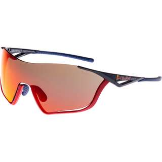 Red Bull Spect Flow Sportbrille blue-smoke red