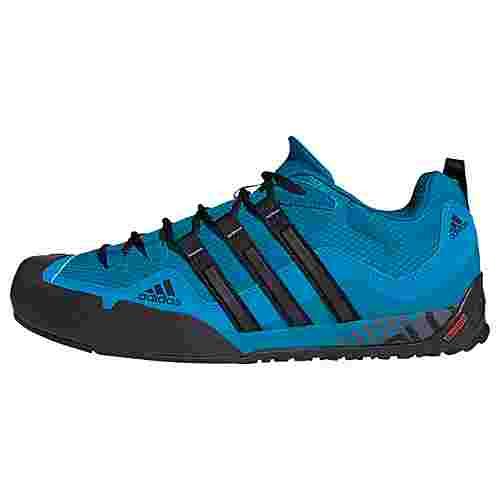 adidas TERREX Swift Solo Schuh Wanderschuhe Herren Dark Solar Blue / Core Black / Solar Blue
