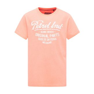 Petrol Industries T-Shirt Kinder Fiery Coral