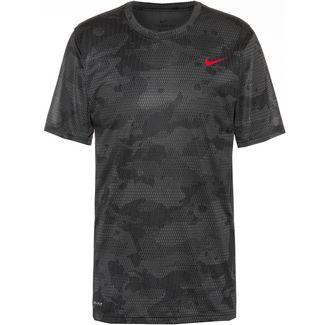 Nike Dry  Aop Funktionsshirt Herren iron grey-black