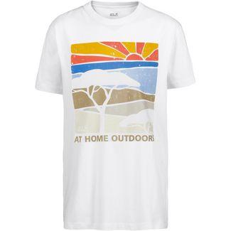 Jack Wolfskin T-Shirt Herren white rush