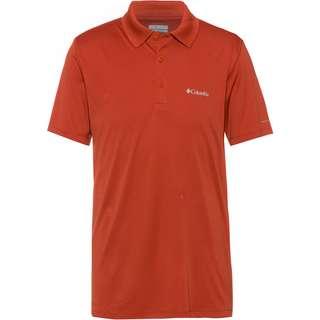 Columbia Zero Rules™ Poloshirt Herren carnelian red