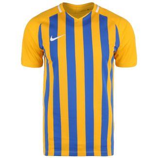 Nike Striped Division III Fußballtrikot Herren gold / blau