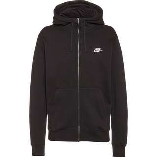 Nike NSW Club Sweatjacke Herren black-black-white