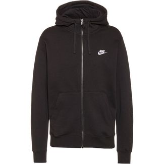 Nike NSW Club Trainingsjacke Herren black-black-white