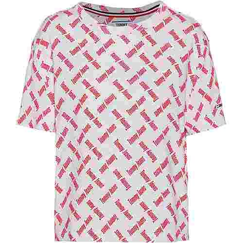 Tommy Hilfiger T-Shirt Damen logo print-white