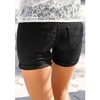 S.OLIVER Shorts Damen schwarz