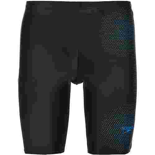 SPEEDO Jammer Herren tech black-pool blue