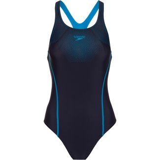 SPEEDO Schwimmanzug Damen true navy-pool
