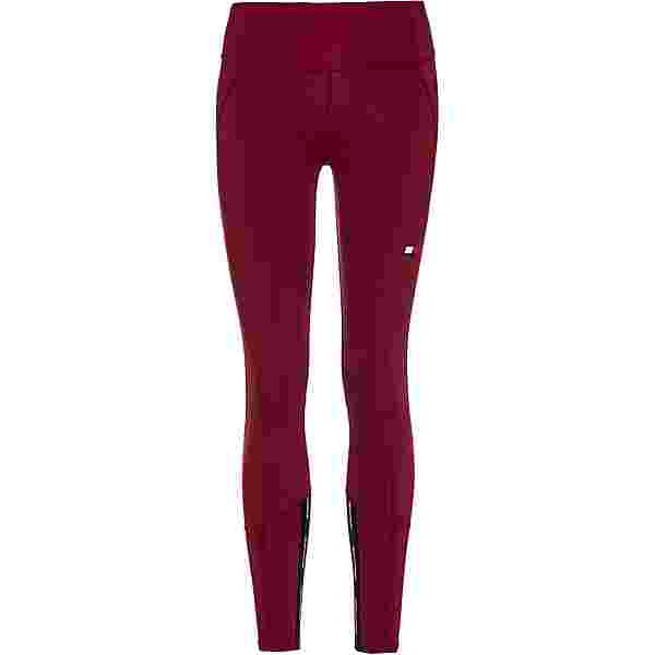 Tommy Hilfiger Leggings Damen deep rouge